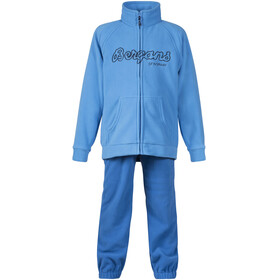 Bergans Smådøl Set Kinder light winter sky/athens blue/navy